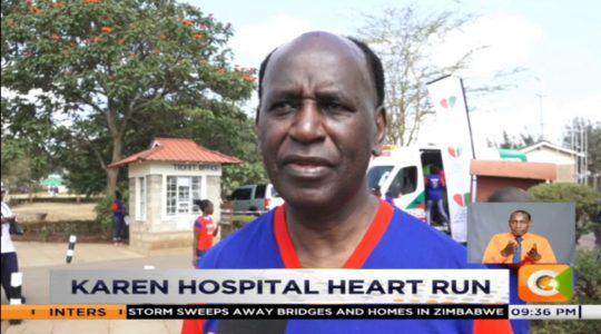 Karen hospital heart run